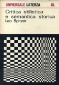 Critica stilistica e semantica storica