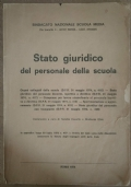Stato giuridico del personale della scuola