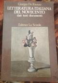 Letteratura italiana del novecento