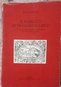 Il fioretto di Francesco Cieco (con dedica)