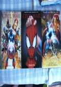 Civil War - Volumi 1, 2, 3 - Guerre Civile / Vendetta / la Mort de Captain America