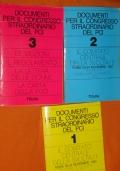 Documenti per il congresso straordinario del PCI, il comitato centrale della svolta  Roma 20 - 24 novembre 1989