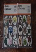 2 vol . Atlante di botanica . Dizionari Atlanti De Agostini 1971