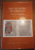 SAN SILVESTRO DI FABRIANO Antiche pergamene