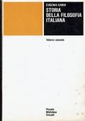 Storia della filosofia italiana ( Eugenio Garin ) Einaudi - Volume terzo -1966/1 edizione