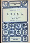 Etica ( passi scelti ) Benedetto De Spinoza - casa editrice Giuseppe Principato 1959