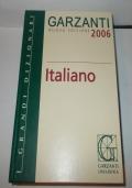 DIZIONARIO GARZANTI ITALIANO 2006 NUOVA EDIZIONE