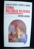STORIA DELL'ITALIA RELIGIOSA VOLL- I II III