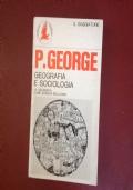 GEOGRAFIA E SOCIOLOGIA LA GEOGRAFIA COME SCIENZA DELL'UOMO