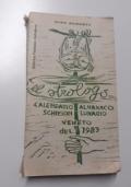 El strologo. Calendario Almanaco  veneto par l'ano 1983  n.19