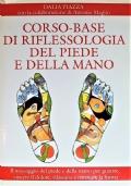 Corso-base di riflessologia del piede e della mano, con mappa dei punti zonali del piede