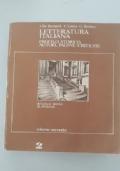 Letteratura italiana. Profilo storico, autori, pagine critiche . Scuole medie superiori. Volume Secondo:Dal Cinquecento al Settecento