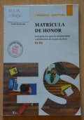 Matricula de honor b1 e b2