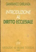 INTRODUZIONE AL DIRITTO ECCLESIALE. [ 2^ edizione: Piemme, novembre 1997 ].