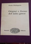 Origini e forme del mito greco