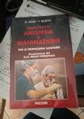 Argomenti di Anestesia e Rianimazione. Per le professioni sanitarie