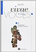 Vivae voces 3- Autori latini per il liceo classico