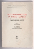 Aree metropolitane in Italia anni 80