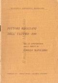 Pittori reggiani dell'ultimo 800: nel 25° Anniversario della morte di Cirillo Manicardi (Febbraio 1951 : Reggio Emilia – Galleria Fontanesi)