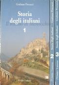 Storia degli italiani (3 volumi)
