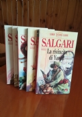 Le due tigri + altri di Emilio Salgari- le avventure di Sandokan