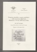 Progresso scientifico e sapere accademico nella costruzione dello Stato. Riflessioni a 150 anni dall'Unità d'Italia
