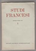 Studi francesi 1 gennaio-aprile 1957 - Società Editrice Internazionale