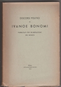 Discorsi politici di Ivanoe Bonomi