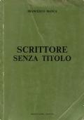 SCRITTORE SENZA TITOLO (dedica dell'autore)