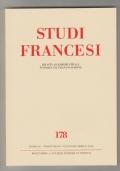 Studi francesi 178 gennaio-aprile 2016: OMAGGIO A LIONELLO SOZZI  Atti della giornata di studio  Torino, Accademia delle Scienze, 25 settembre 2015
