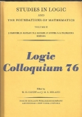 Logic colloquium '76 : proceedings of a conference hel in Oxford in july 1976