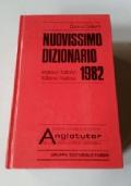 Nuovissimo dizionario 1982 inglese/italiano- italiano/inglese
