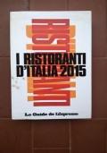 I ristoranti d' Italia 2015