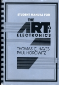 Student Manual for the Art of Electronics