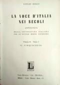 Antologia della Letteratura Italiana - Il Cinquecento