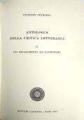 Antologia della Critica Letteraria - Dal Rinascimento All'Umanesimo