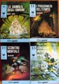 Lupo Solitario 8-11-12-13 Serie Kai Ramastan Librogame lotto libri game fantasy ragazzi RISTAMPE