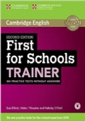 First for Schools Trainer, six practice tests without answers, Second Edition