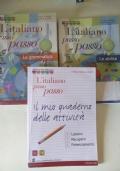 L'ITALIANO PASSO PASSO (GRAMMATICA+QUADERNO ATTIVITà+ABILITà+CD ROM)