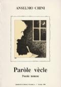 Paròle vècle - Poesie nonese