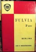 Libretto Lancia Fulvia berlina 2da serie