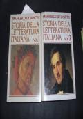 storia della letteratura italiana  vol. I   II