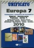 UNIFICATO - CATALOGO E QUOTAZIONE FRANCOBOLLI DI GRECIA JUGOSLAVIA TURCHIA 2010