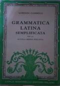 Grammatica latina semplificata