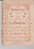 LA BOHEME, G. GIACOSA E L. ILLICA