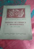 nozioni di chimica e mineralogia