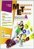 Matematica teoria esercizi. Aritmetica. Con tavole numeriche-Il mio quaderno INVALSI 1. Vol. 1