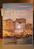 arte a roma dal Borromini al Canova