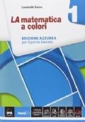 LA MATEMATICA A COLORI ED. AZZURRA / VOLUME 1+ EBOOK
