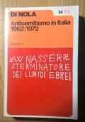 ANTISEMITISMO IN ITALIA 1962 1972